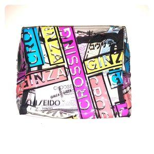 💄NWOT Limited Shiseido Ginza Tokyo cosmetic bag